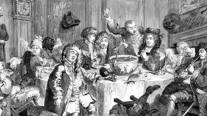 La prohibición de importar bebidas extranjeras dio lugar al Gin Craze, una época de consumo descontrolado de ginebra de dudosa calidad.