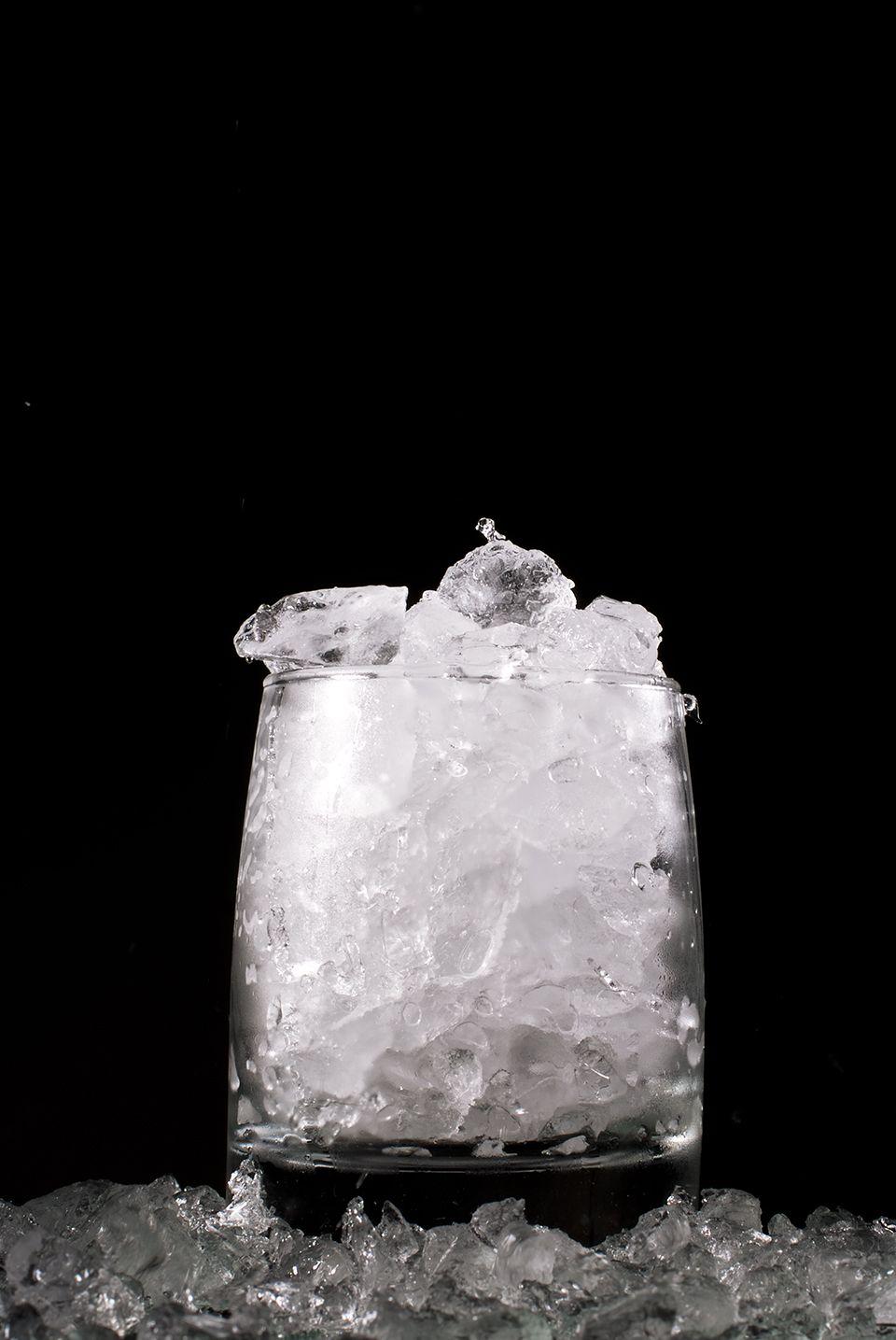 Tipos de hielo para coctelería