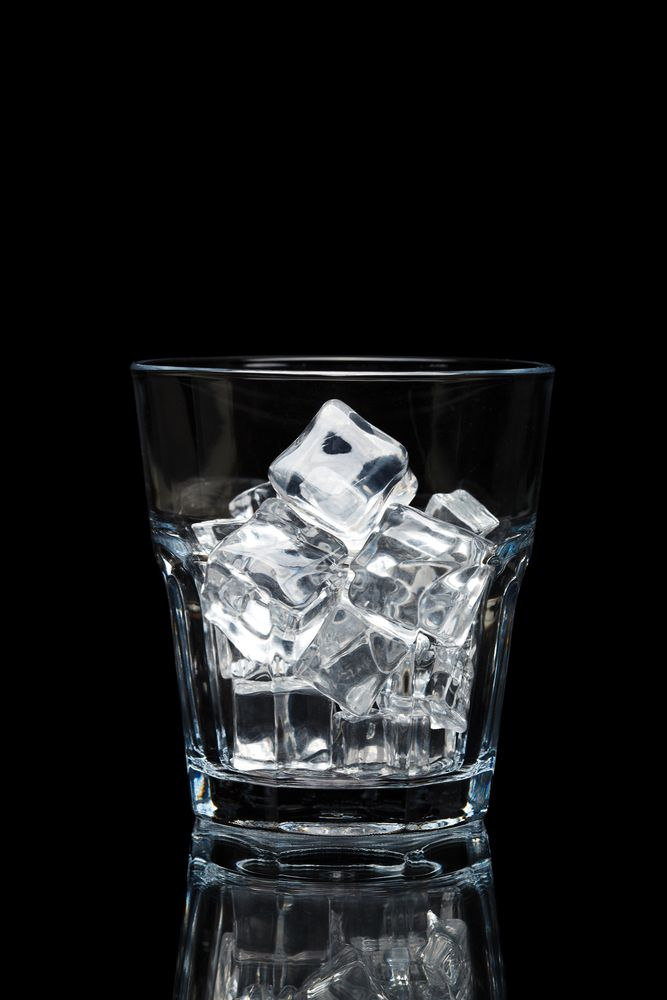 Tipos de hielo en coctelería