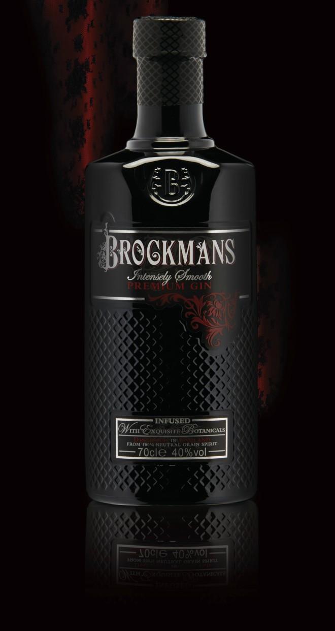 Regalos de Navidad para un amante del gin tonic: botella de Brockmans