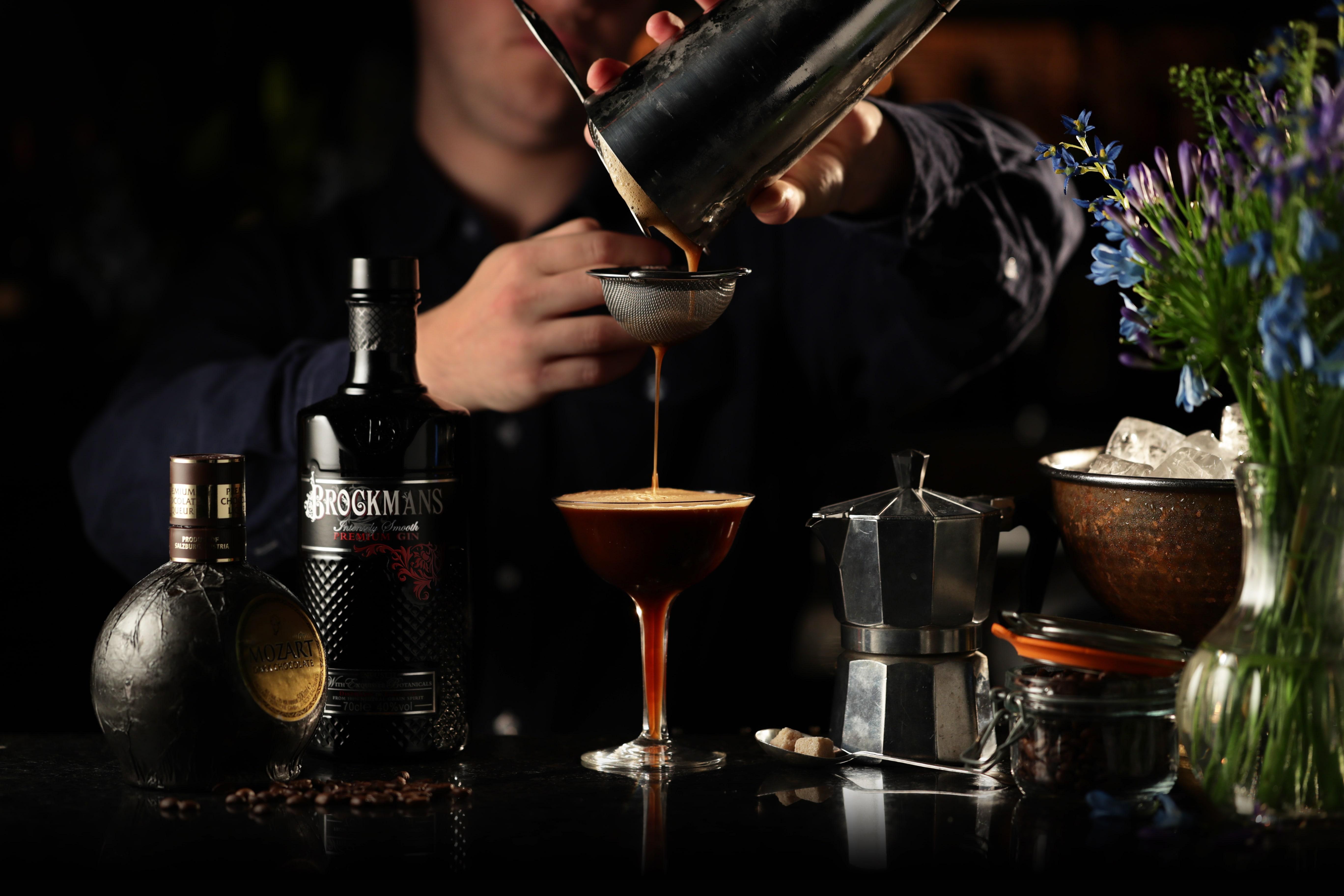 BM Making Of Mocha Martini
