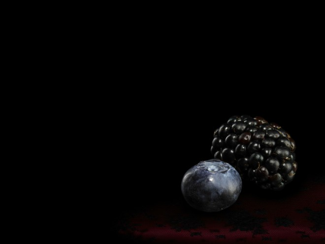 Arándanos azules botánico de la ginebra Brockmans