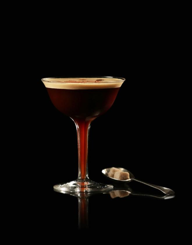 Cocteles primavera Mocha Martini