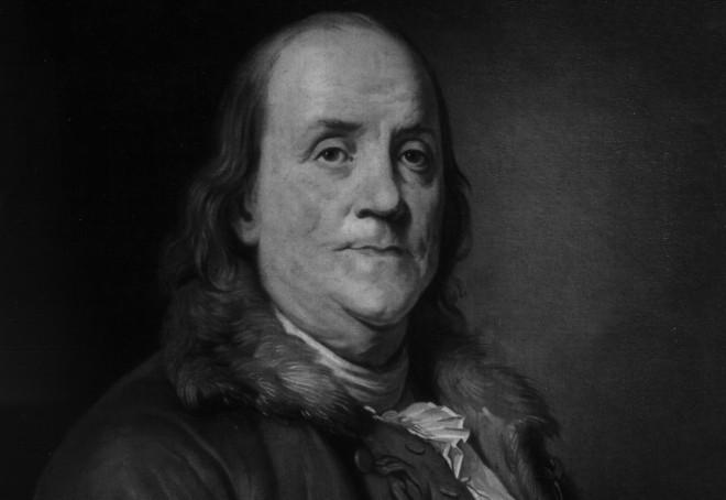 Frase célebre sobre el alcohol de Benjamin Franklin