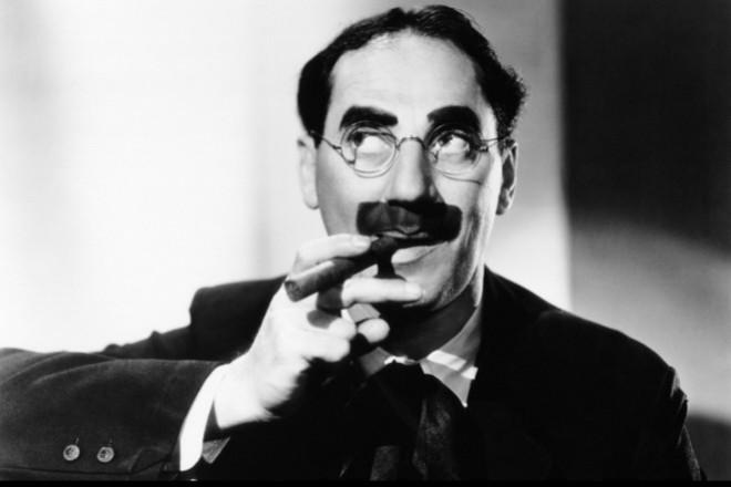 Frase célebre sobre el alcohol de Groucho Marx