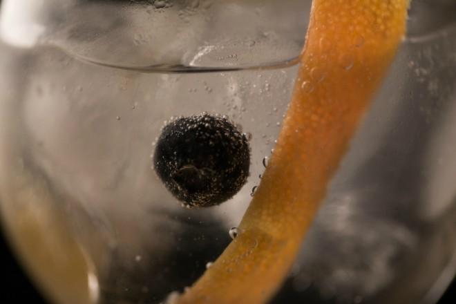 Gin tonic de Brockmans