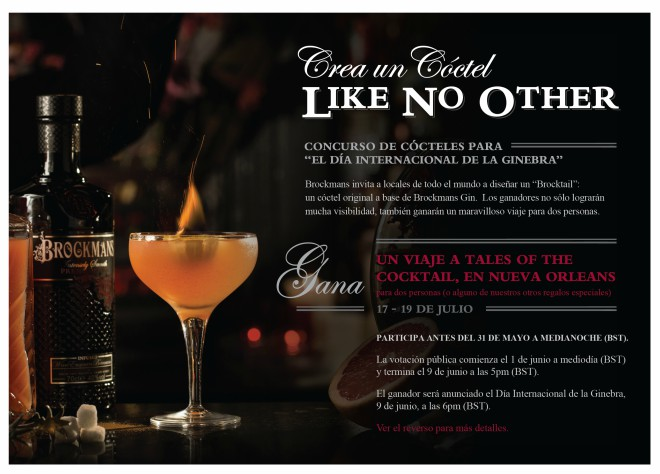 Concurso Brockmans del World Gin Day