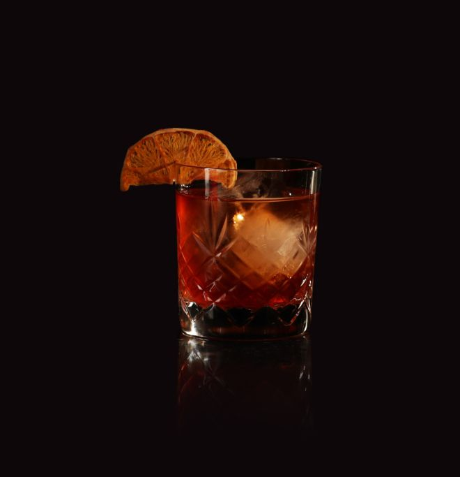 Receta de Brockmans Summer Negroni