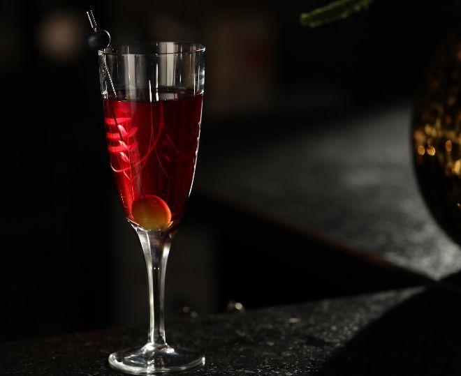 Gin Kir, uno de los cócteles de verano de Brockmans