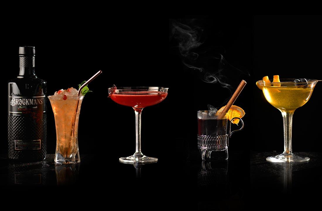 4 recetas de coctelería de invierno de Brockmans Gin