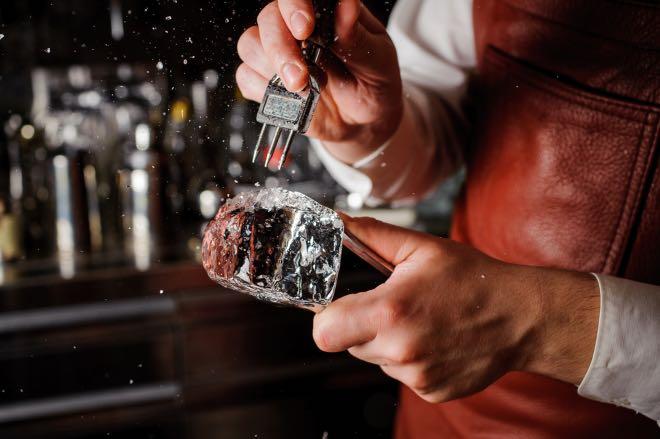 Cuidar el hielo, una de las tendencias de coctelería para 2019