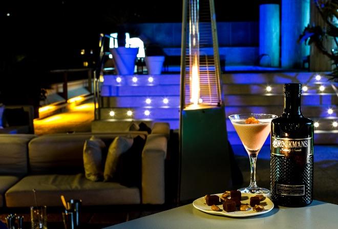 Brockmans Sound Experience en la terraza del hotel Claris, en Barcelona