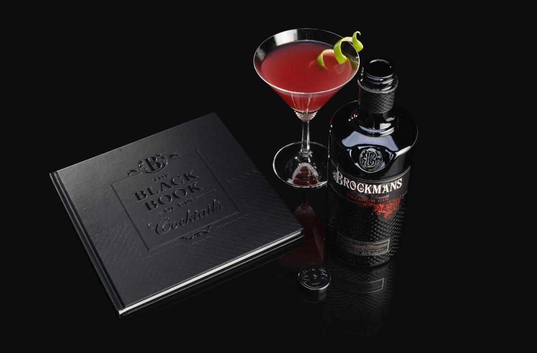 The Black Book of Gin Cocktails: el libro de coctelería de Brockmans