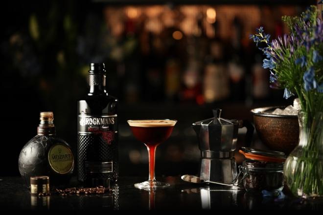 Cóctel Mocha Martini